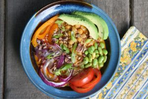 Plant-Based Food_vegan noodle bowl