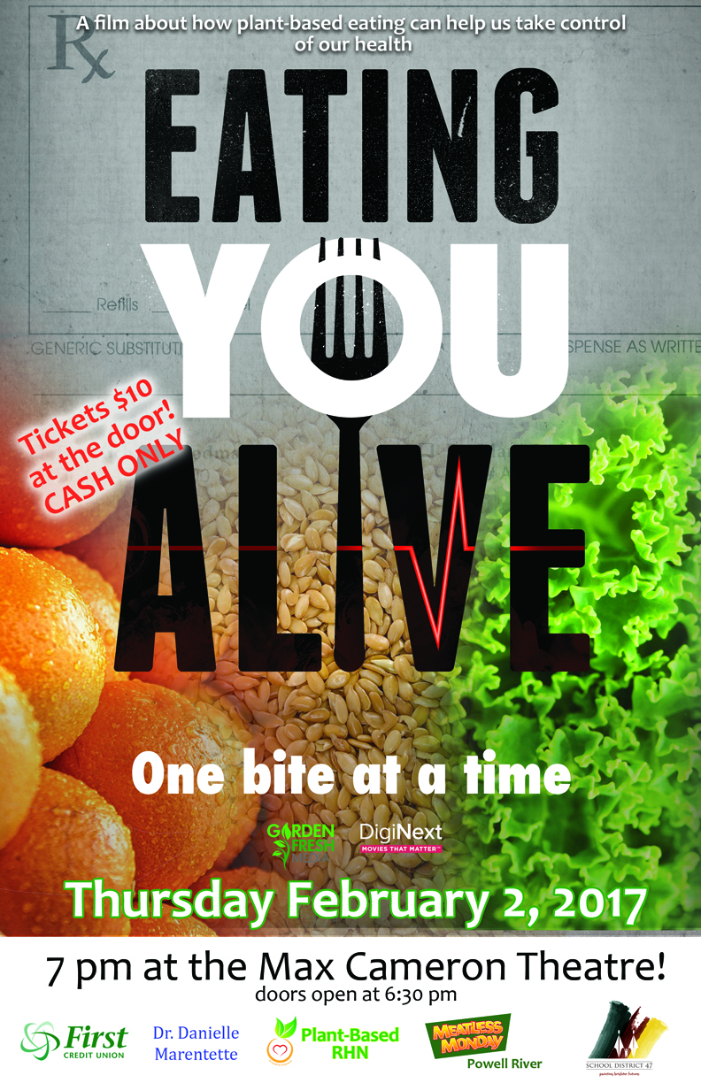 In 2017 Power Up Your Ethics AND Your Health – A Pre-Screening of Eating You Alive