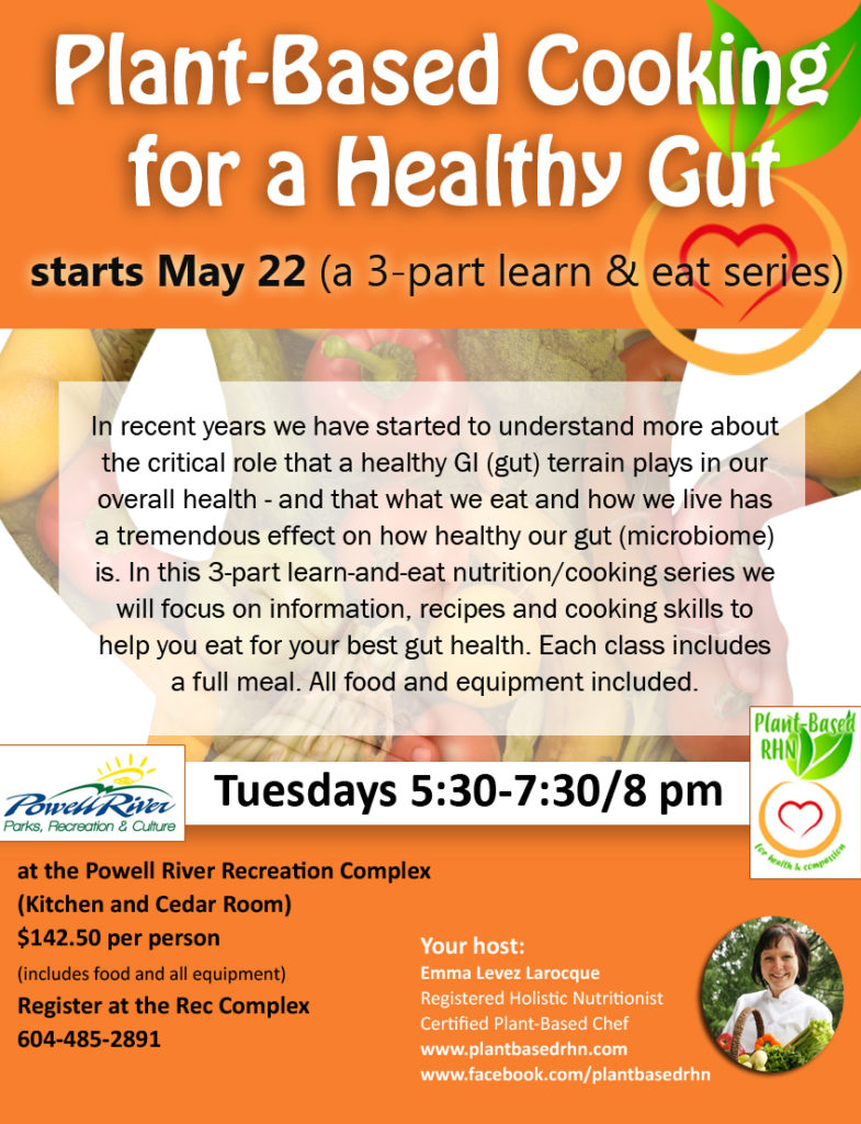 Plant Based Cooking for a Healthy Gut