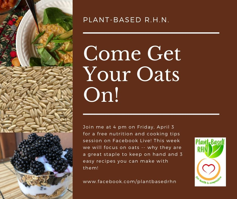 Get Your Oats On!